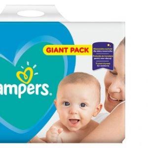 Supercena Pieluchy Pampers New Baby-Dry S2, 100 szt.