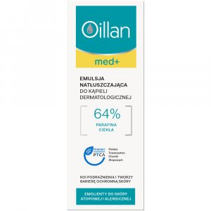 OILLAN MED+ natłuszczająca emulsja do kąpieli