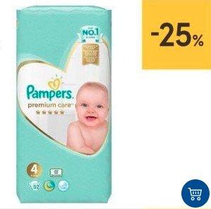 Hit Miesiąca! Pieluchy Pampers Premium -25%