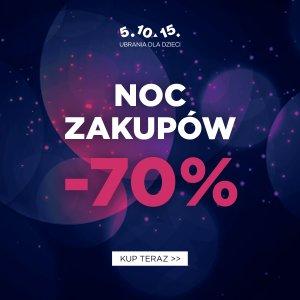 Noc Zakupów w 5.10.15 do -70%