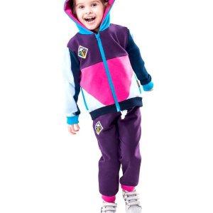 Bluza Eos Zip Hoodie (Purple) -20%
