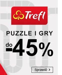 Puzzle i gry TREFL w Smyku do -45%