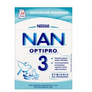 Mleko modyfikowane NESTLE NAN OPTIPRO 3 -50%