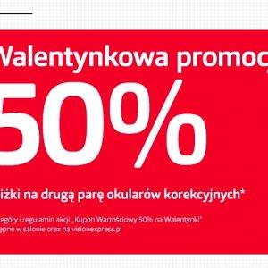 Walentynkowa promocja 50%