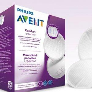 Philips Avent - jednorazowe wkładki laktacyjne -30%