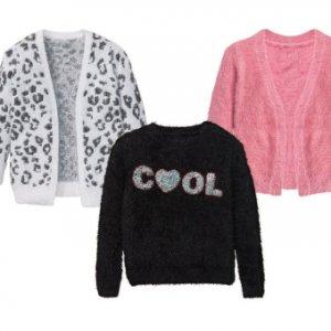 PEPPERTS® Sweter dziewczęcy z szenili -50%