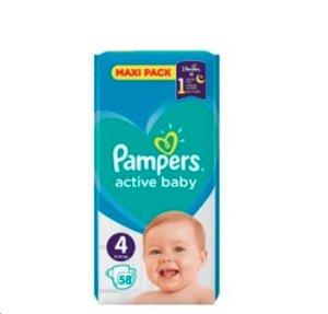 Pieluchy Pampers Maxi Pack 2 op.taniej