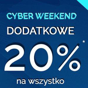 Cyber weekend wyprzedaż -70% i dodatkowe -20% na nową kolekcję