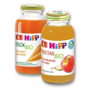 HIPP Nektar lub sok BIO - drugi produkt -50%