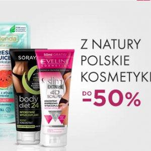 Naturalne polskie kosmetyki w Drogerie Natura do -50%