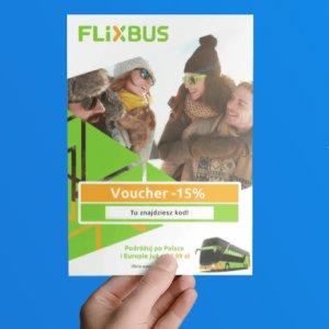 W Fiszki.pl voucher -15% na przejazd FlixBusem