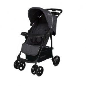 BabyGO wózek spacerowy Basket Dark Grey Melange -17%