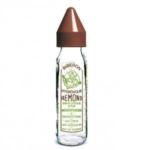 DBB Remond szklana butelka dziecięca Vintage 240 ml -15%