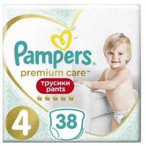 Pampers Premium Care Pants 4 pieluchomajtki Maxi 38 sztuk -20%
