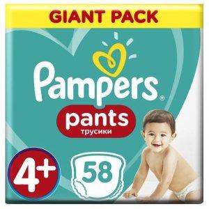 Pampers pieluszki Pants Maxi+ 4 pieluchomajtki 99 sztuk -20%
