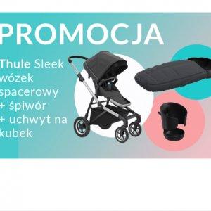 Thule Thule Sleek wózek spacerowy + śpiwór + uchwyt na kubek -350zł