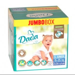 Supercena na pieluszki Dada Extra Soft Jumbobox