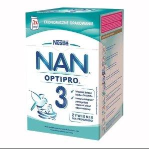 Mleko modyfikowane NAN Optipro w promocji Drugi produkt taniej