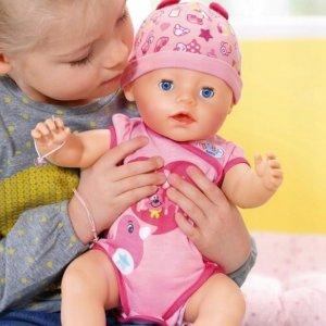 BABY BORN Lalka Interaktywna BOBAS SOFT TOUCH GIRL -42%