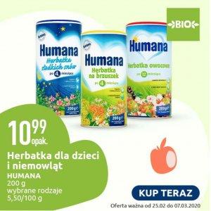 Herbatka dla dzieci i niemowląt Humana