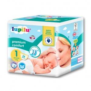 LUPILU PREMIUM COMFORT Pieluszki 1 Newborn -25%