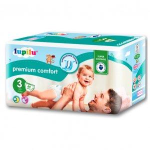 LUPILU PREMIUM COMFORT Pieluszki Junior, Maxi lub Midi -25%