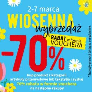 Wiosenna wyprzedaż w Biedronce do -70%