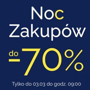 Noc zakupów do -70%