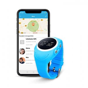 Wodoodporny zegarek GPS dla dziecka GJD.03