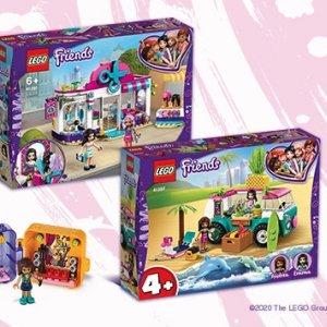 Wszystkie zestawy LEGO Friends w Empiku do -25%