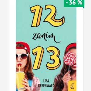 "Ksiązka ""12 zanim 13"" -36%"