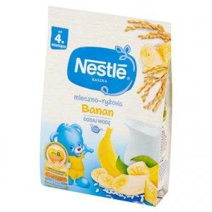 Kaszka mleczno-ryżowa z bananami NESTLE