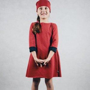 Sukienka 3/4 Z Kokardką JJ Fashion -34%