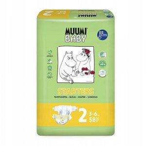 MUUMI Pieluszki ekologiczne 2 MINI  - czwarty produkt -50%