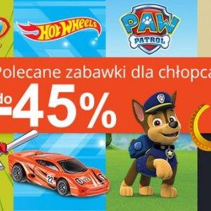 Zabawki dla chłopców w Smyku do -45%
