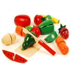 Drewniane warzywa i owoce do krojenia -37%