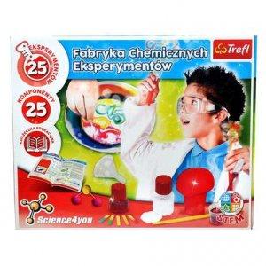 Trefl - Science4You fabryka chemicznych eksperymentów