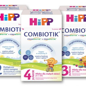 HiPP Mleko BIO Combiotik i BIO Combiotik Junior - drugi produkt -50%
