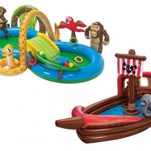 Hit cenowy - PLAYTIVE®JUNIOR Basen dla dzieci Dżungla lub Statek Piracki