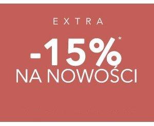 Extra 15% na nowości w ebutik.pl