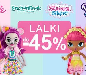 Lalki w Smyku do -45%