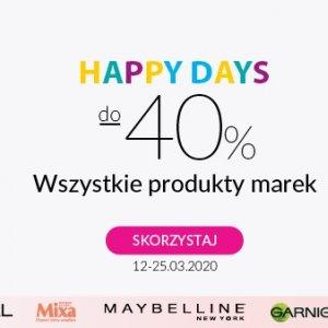 Happy Days w Hebe do -40%