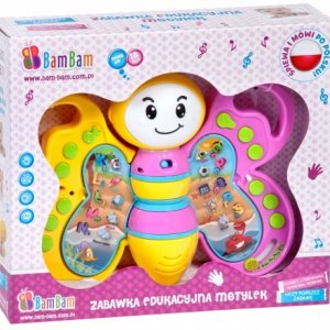 Zabawka edukacyjna Motyl w super cenie