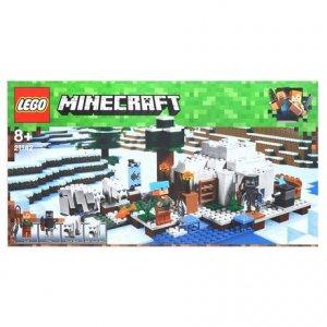 LEGO - Minecraft Igloo niedźwiedzia polarnego w super cenie
