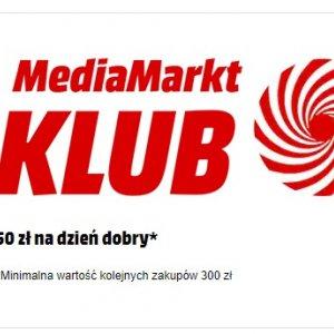 Dołącz do klubu Media Markt i odbierz 50 zł rabatu