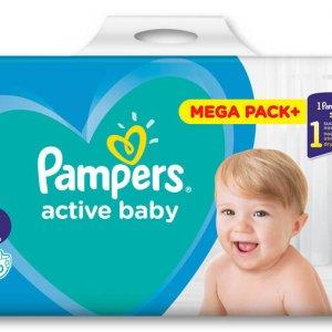 PAMPERS Pieluszki Active Baby, megapaka -28%