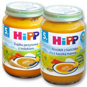 HiPP Danie lub danie BIO 190g - kup 2 zapłać mniej