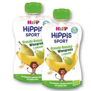 HIPP Mus Hippis Sport BIO lub smoothie BIO - 50%