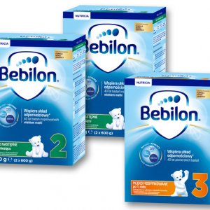 Hit cenowy - BEBILON Mleko 2, 3, 4 lub 5