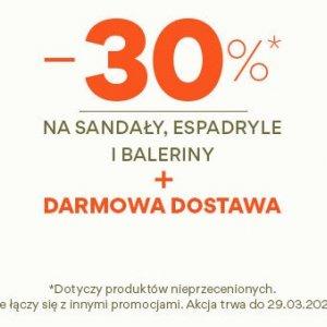 Sandały, espadryle i baleriny w CCC do -30%